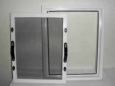 This is a mold for displaying the engagement between windows and insect screen.