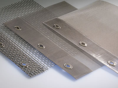There are three filter sheets with different density and three round holes in every sheet edge.