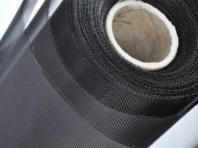 The detail of a roll of invisible insect screen is the high density of mesh and transparency.